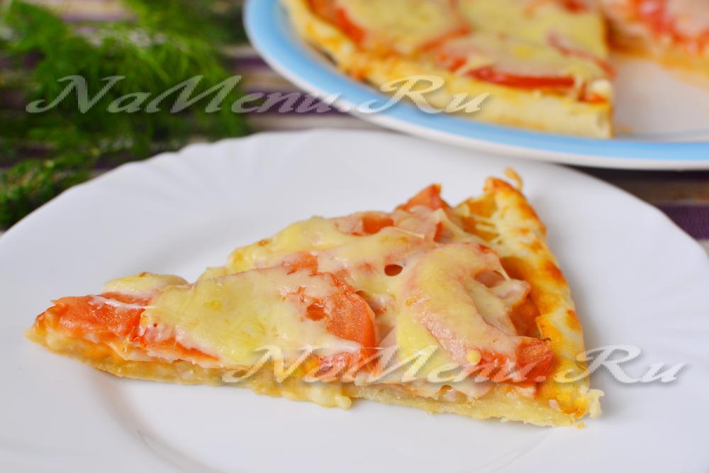 Быстрый рецепт пиццы в духовки