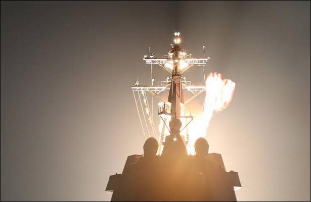 Перехватчик уничтожил межконтинентальную ракету