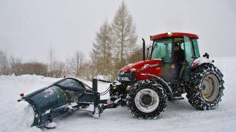 ВЗаречном дляуборки снега подготовили 20машин