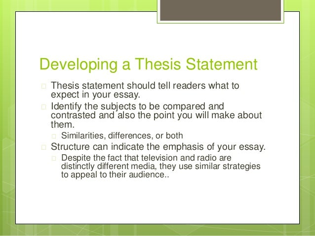 Thesis Statement Definition Essay What Is A Thesis Statement  Quora
