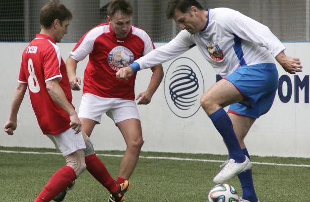 ВМоскве стартовал второй сезон Народной футбольной лиги