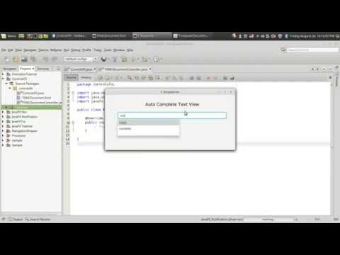 JavaFX GUI Development - CoderProg
