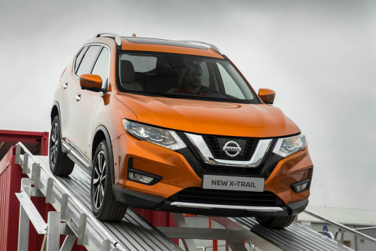 Тест-драйв Nissan X-Trail: правильный подход