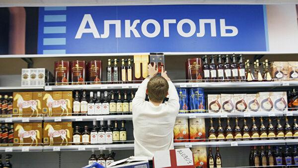 Крепкий алкоголь предложили продавать только валкомаркетах