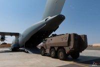 A400M доставил тяжелый бронетранспортер изДжибути вОрлеан