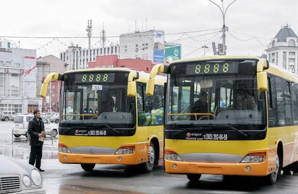 ВНовосибирск поступит 15новых автобусов