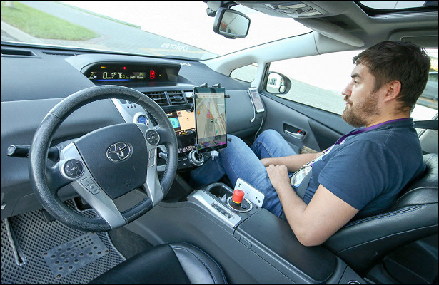 Россия предложила узаконить беспилотные авто