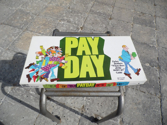 Parker brothers payday 1975