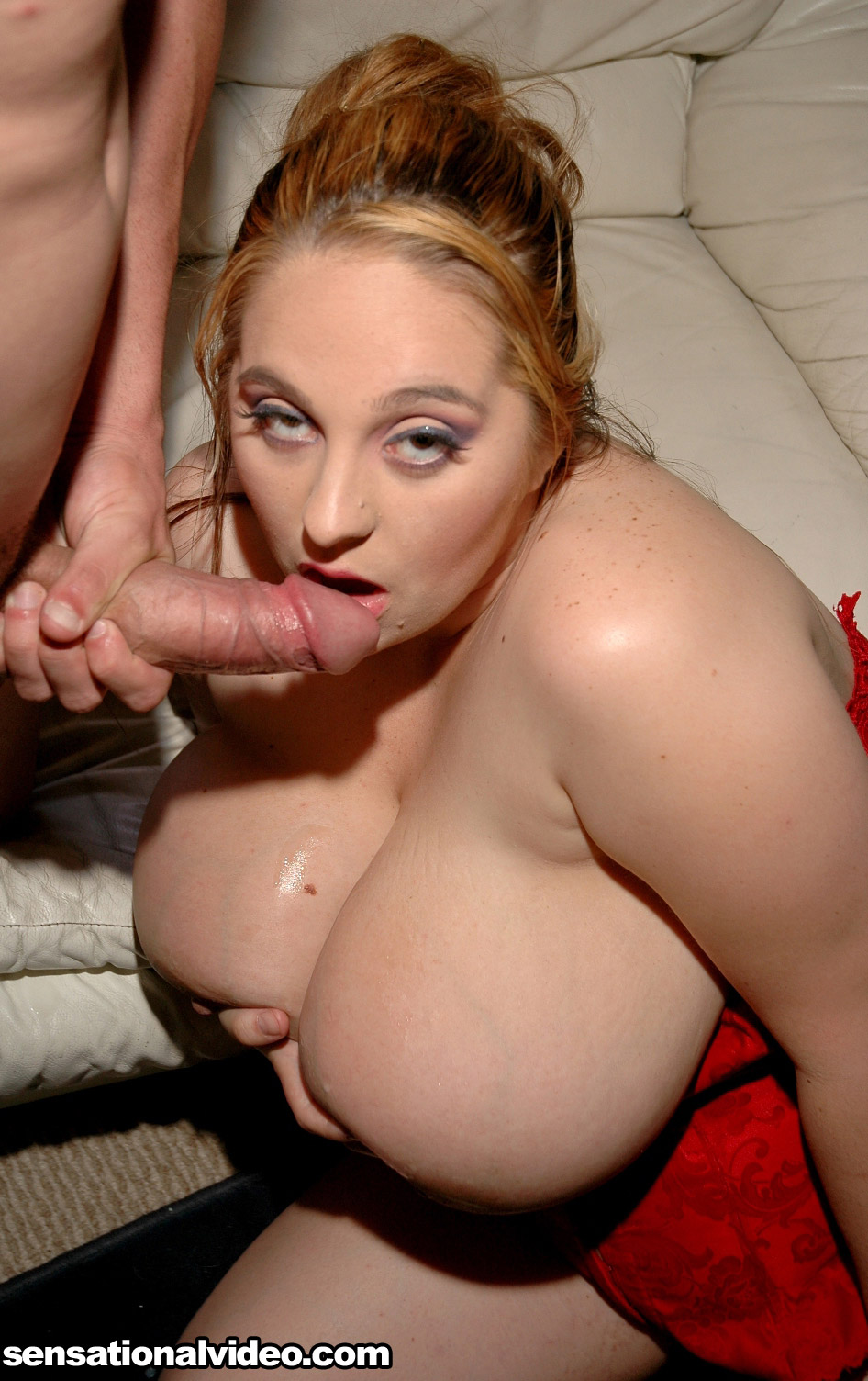 Laura with black cock