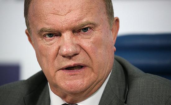 Зюганов призвал вернуть долги пенсионерам