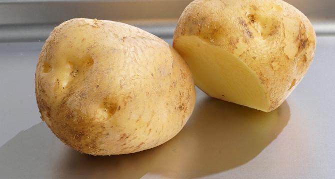 картошка для жарки красная или белая