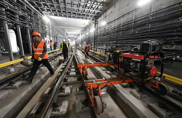 Участок метро «Улица Новаторов» и«Мамыри» готов натреть