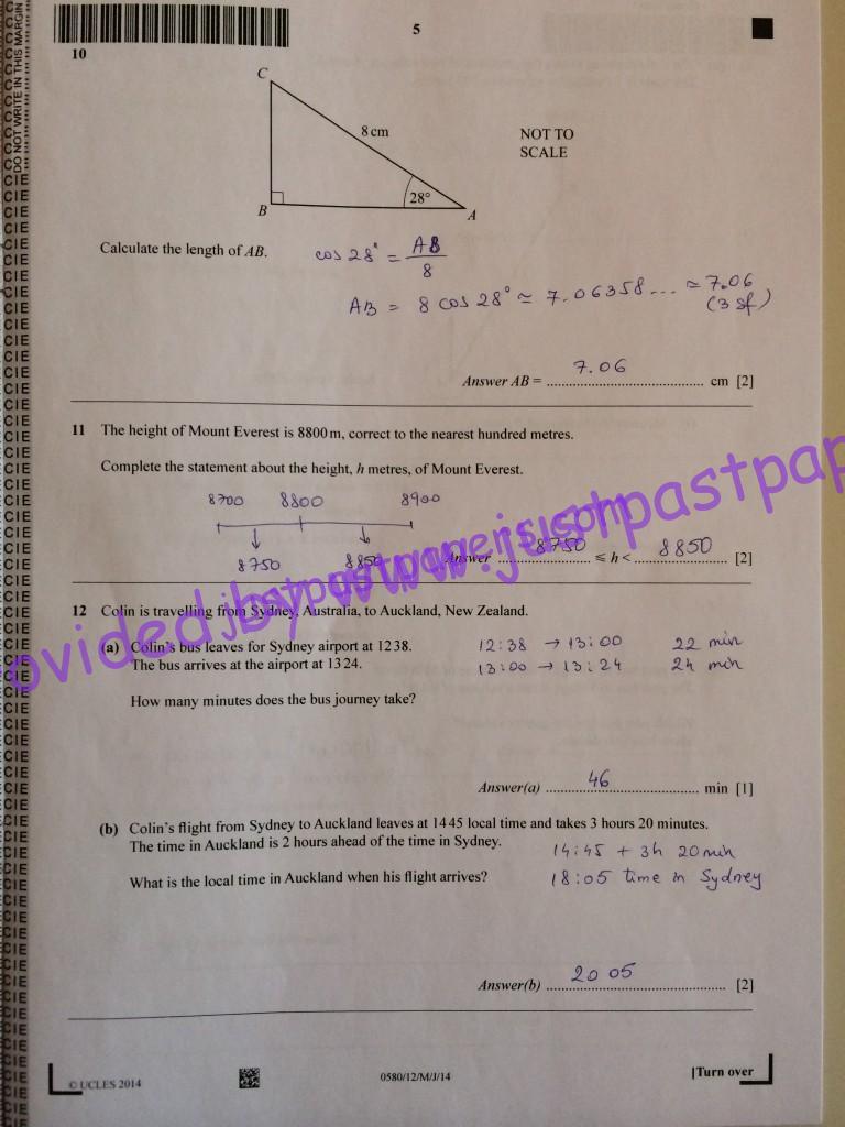 Edexcel igcse physics past papers