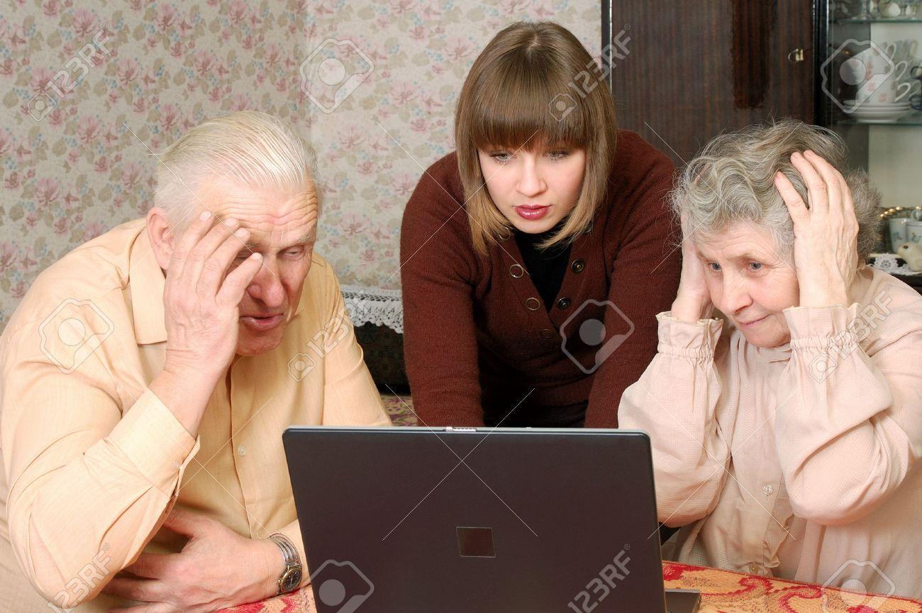 трахнул смотреть бабушку видео внук онлайн