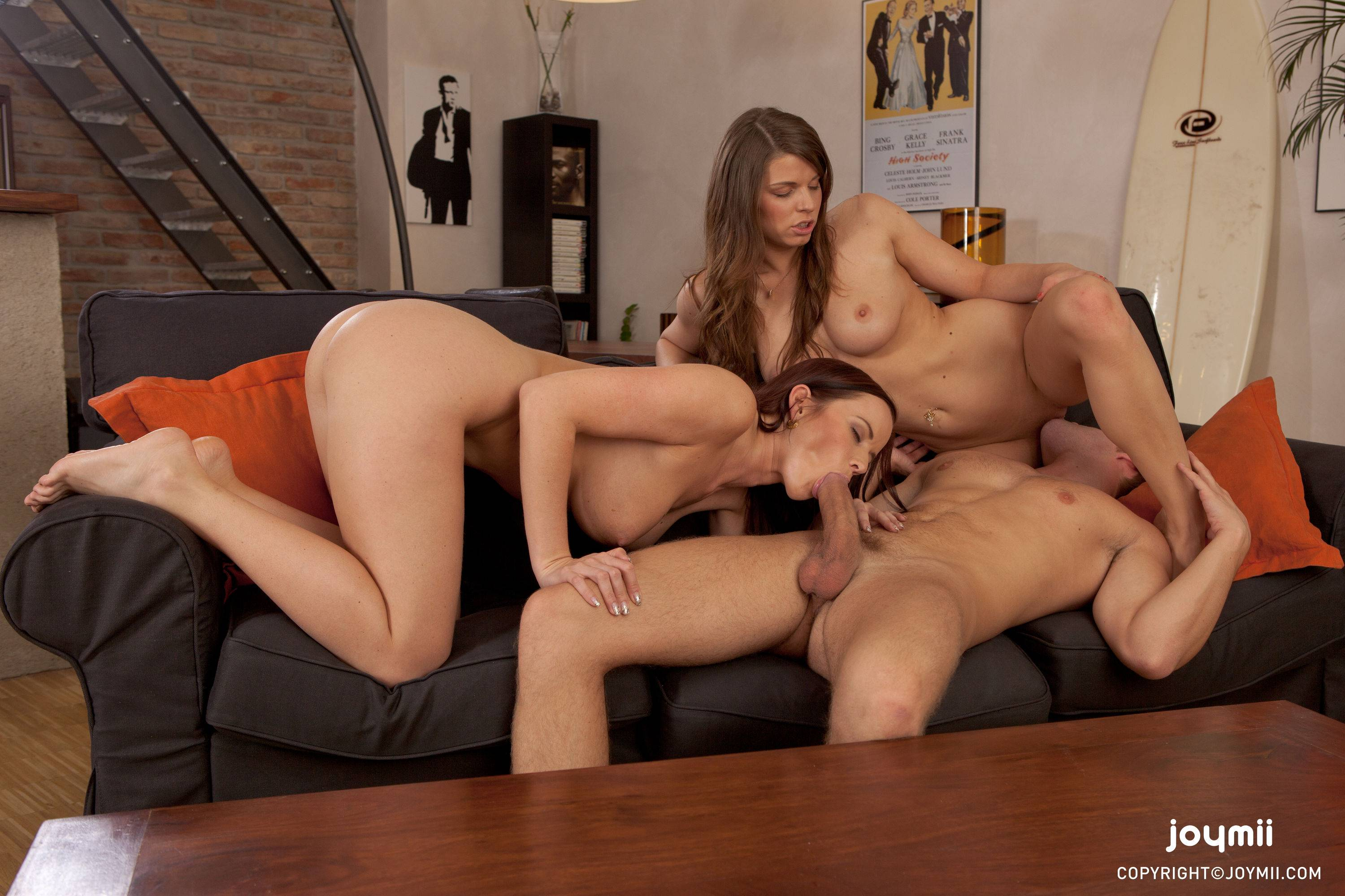 beautiful threesome free porn videos - group