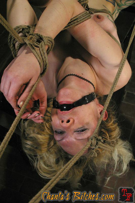 Bondage ring gag mouth fuck