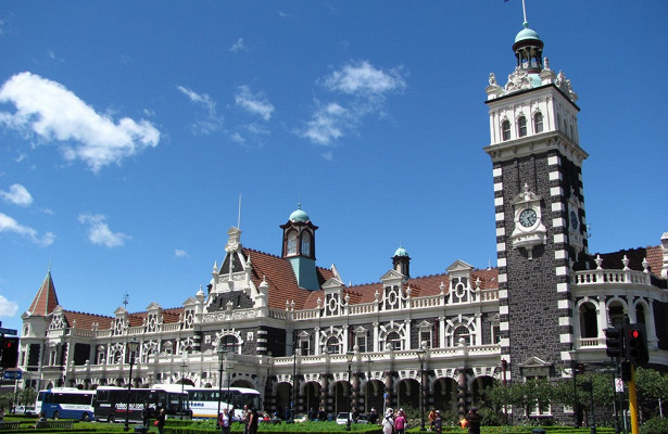Фотоистория освязи Новой Зеландии иШотландии