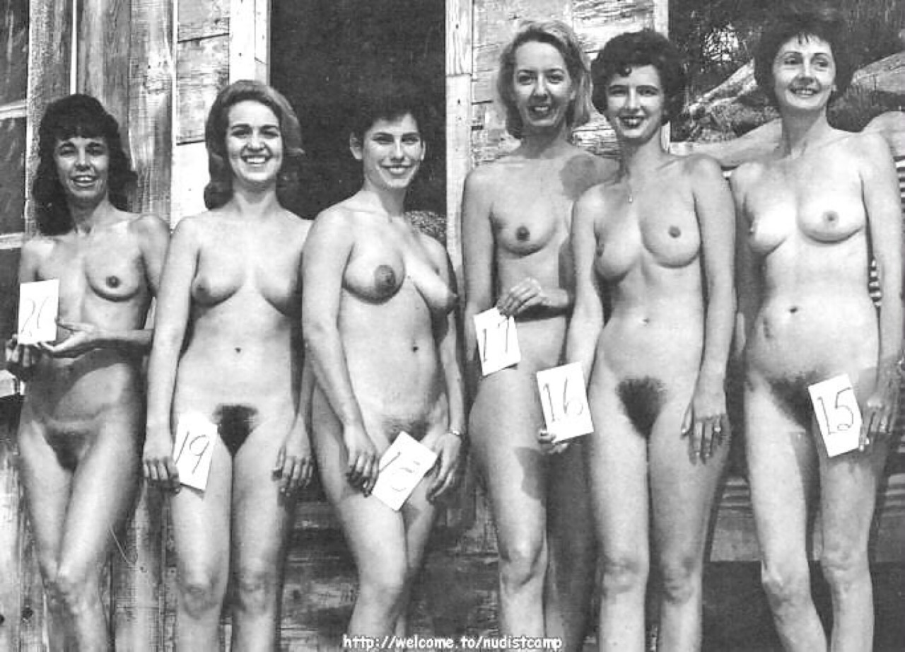 The 1960 nudist pageants