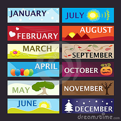 Months pictures free download