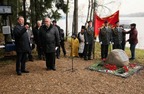 ВПарке Героев заложили капсулу сземлей изМамаева кургана