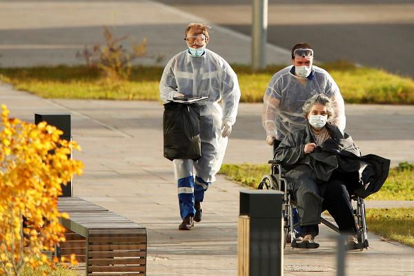 ВРоссии засутки выявили 16521 случай заражения COVID-19