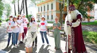 Вологда получила отДеда Мороза приглашение научастие вРусских Ганзейских днях