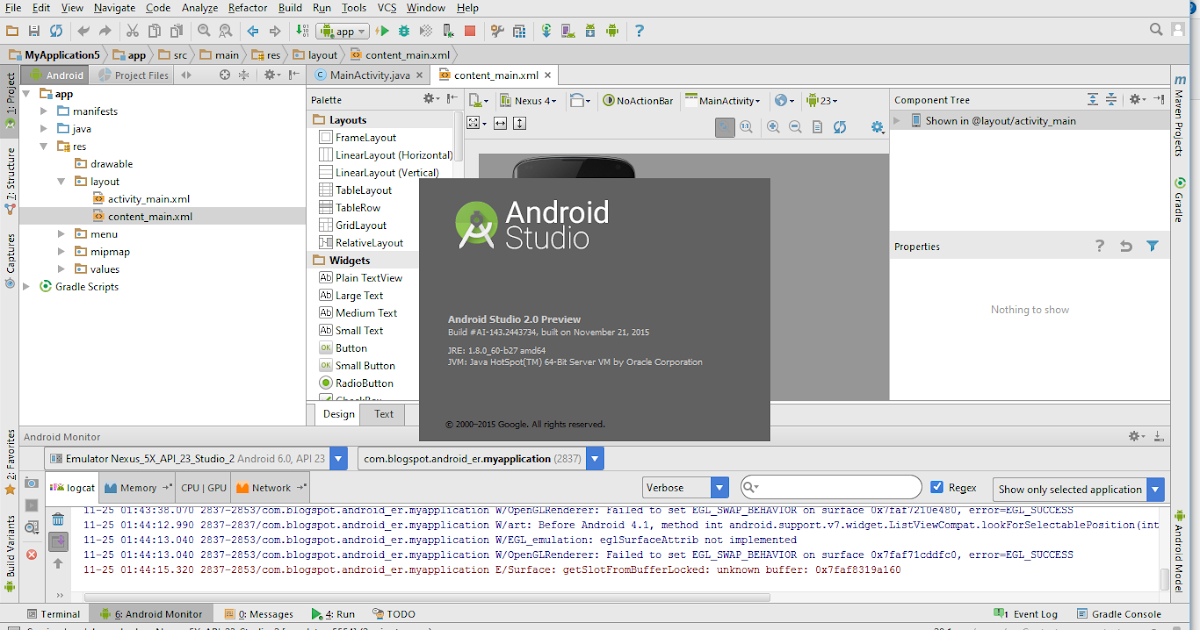 Downloads Preview Channels - Android Studio
