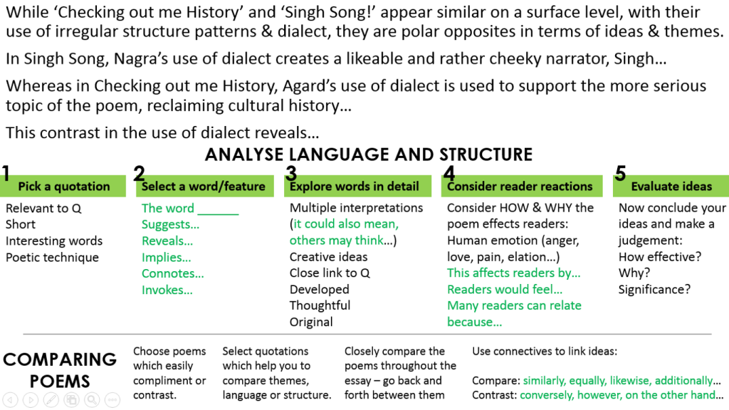 English literature essay structure
