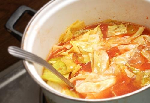 Быстрая диета из супа