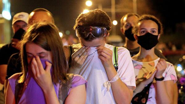 Жители Минска пожаловались намитингующих