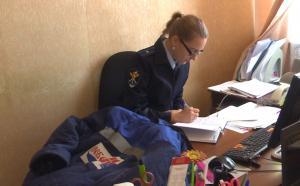 ВБрянске полицейские погорячим следам задержали подозреваемого вподжоге производственного цеха икражах