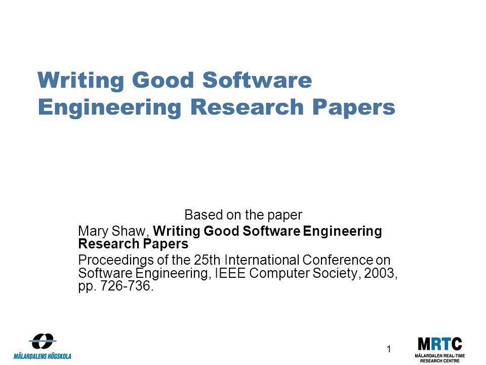 Write my software engineering essay