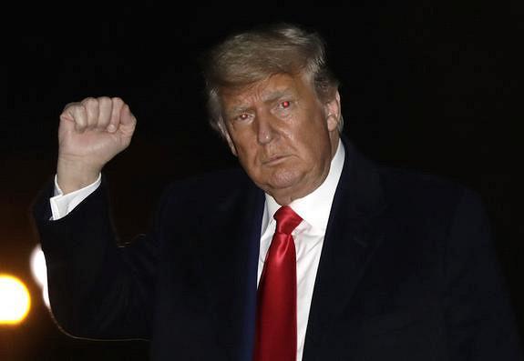 Трамп выступит с«победной» речью вДжорджии
