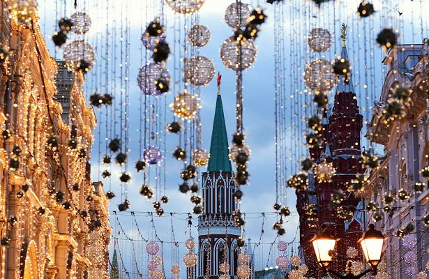 Власти Москвы разрешили прогулки поулицам вновогоднюю ночь