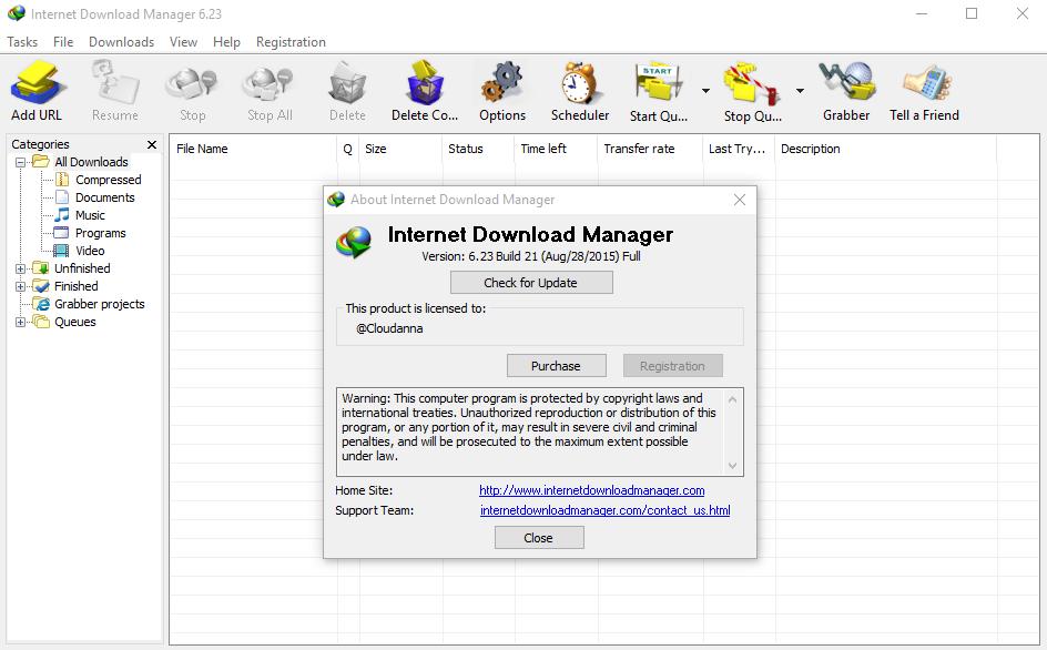 Internet Download Manager ( IDM Crack ) 623 Keygen