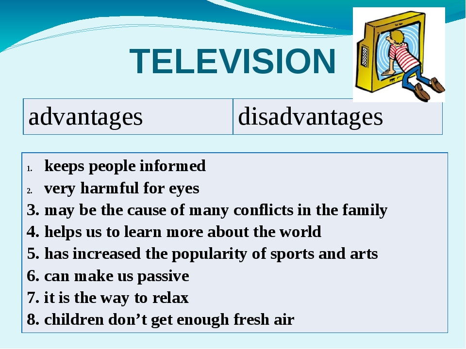 Advantages Limitations of Television as an
