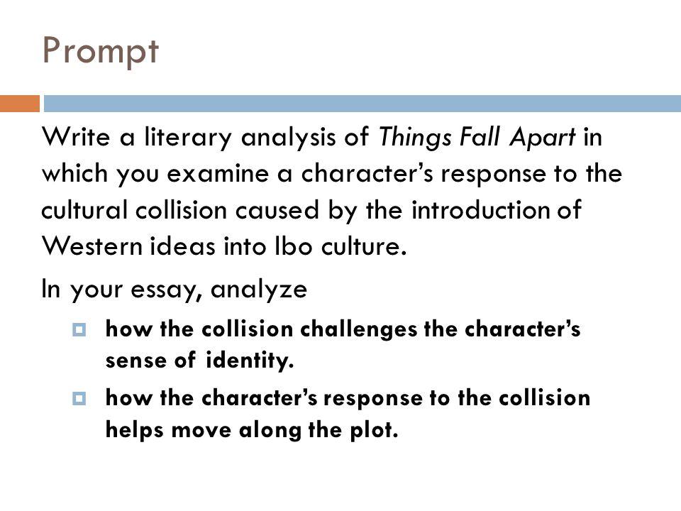 Things Fall Apart Essay Examples - Kibin