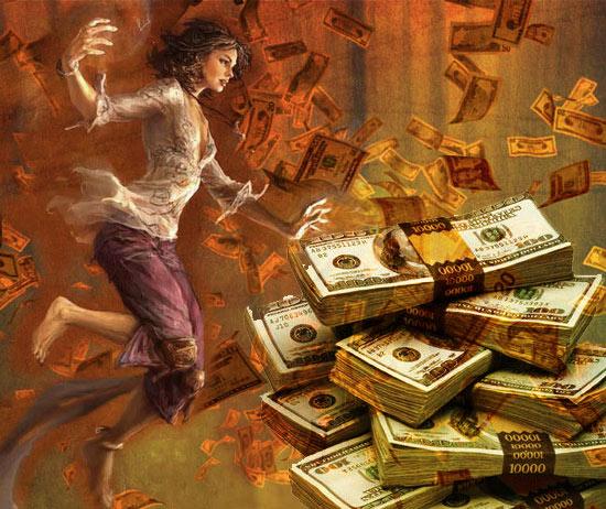 Ритуал быстро заработать деньги