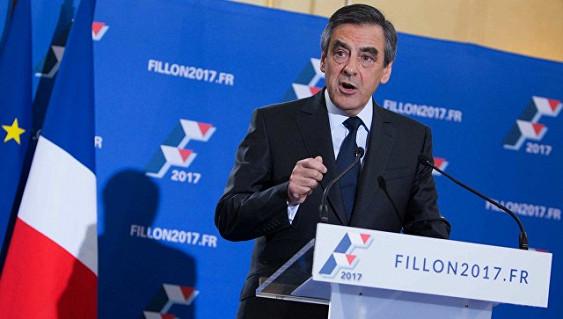Партия Фийона утвердила его кандидатом на президентских выборах во Франции