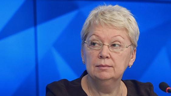 Министр образования инаукиРФ Ольга Васильева посетила вВолгограде форум преподавателей