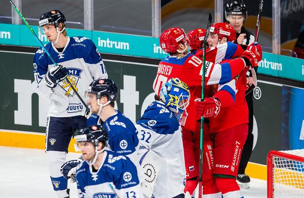 Русская молодёжь вынесла Финляндию