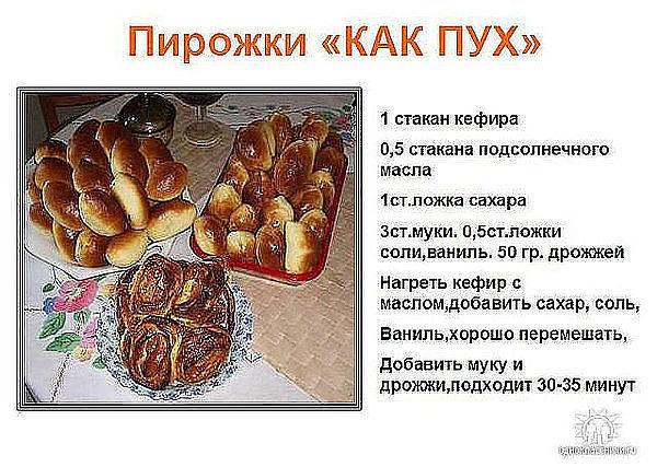 Быстрое тесто для пирожков с сухими дрожжами в духовке рецепт с фото