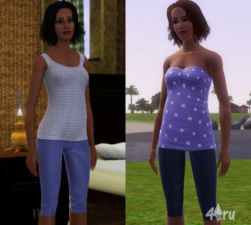 Одежда для Симс 3 в формате sims3pack Скачать одежду для
