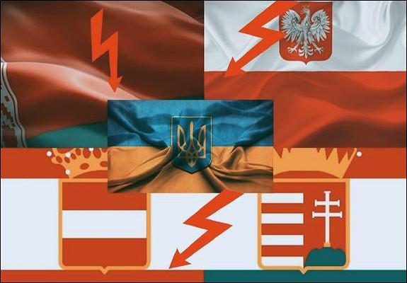 Какв2020 году Украина испортила отношения сБелоруссией, Польшей иВенгрией