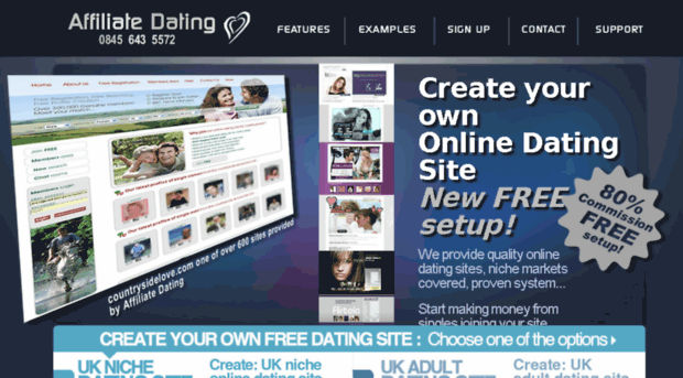 How to make your own dating site