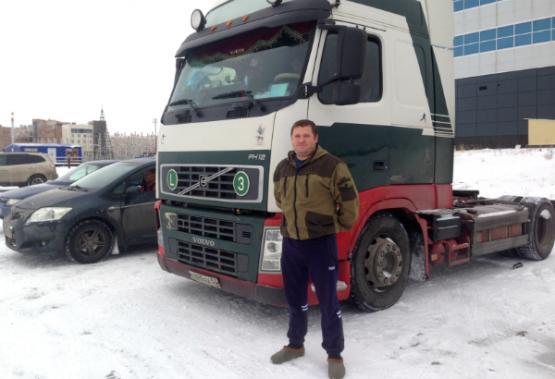 Дальнобойщик изНовгорода случайно выиграл серебро новоуренгойских автогонок