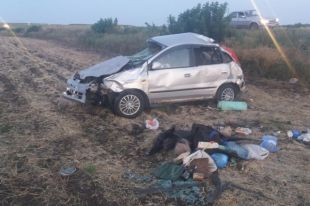 ВБелгородской области пьяный водитель иномарки съехал вкювет