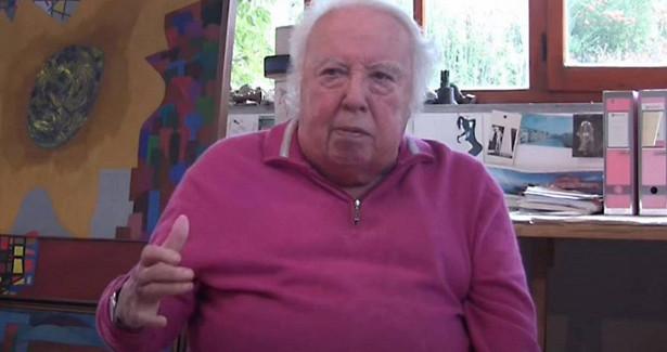 Итальянский художник-абстракционист Акилле Перилли скончался на95-мгоду жизни