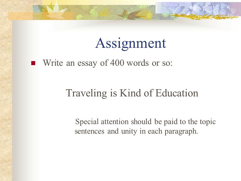 How to Write a 400-Word Essay - Pen and The Pad