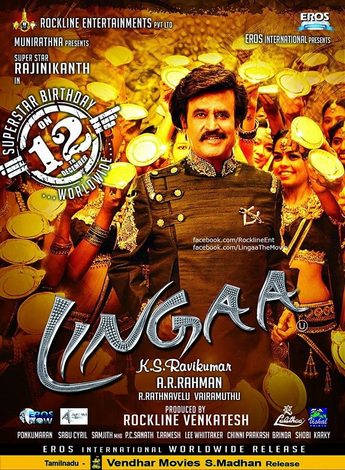 Lingaa (2014) Full Tamil Movie Watch Online Free - Watch